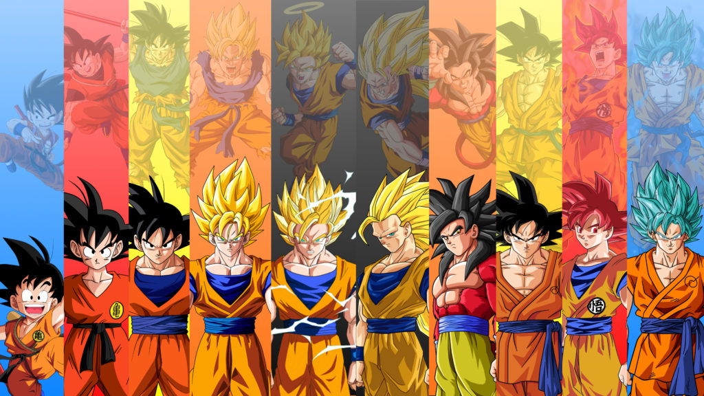 dragon ball z 4k hd wallpaper