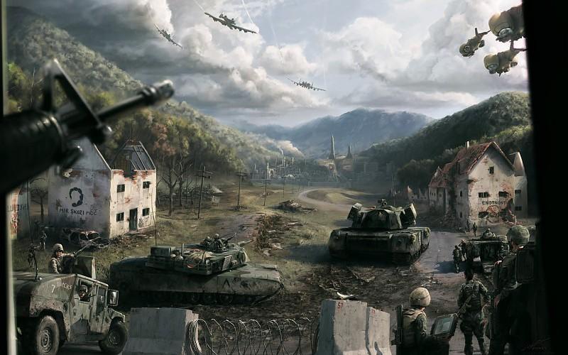 fondos de pantalla militares 3d