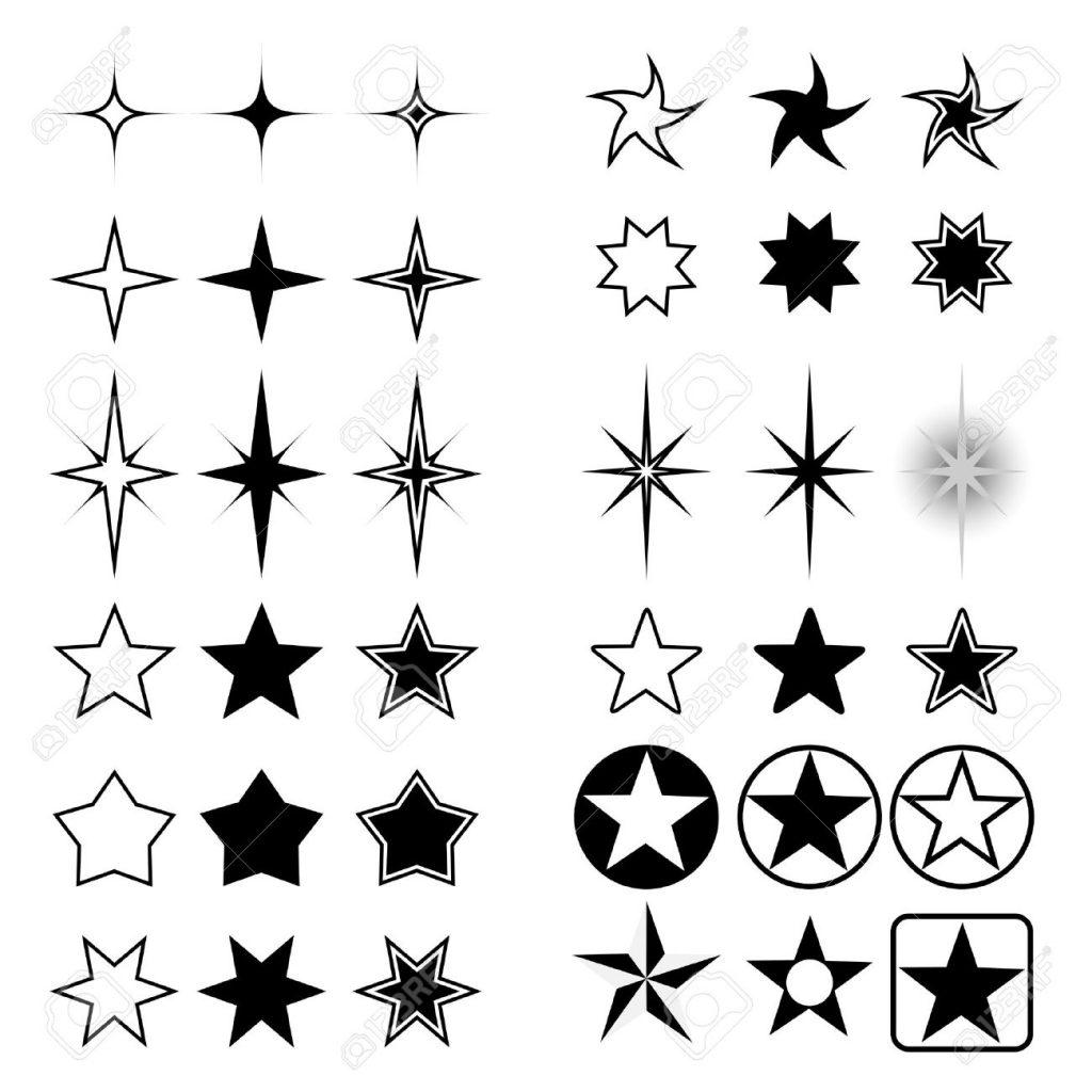 estrellas vectorizadas para descargar