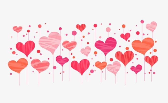fondos de amor en vectores