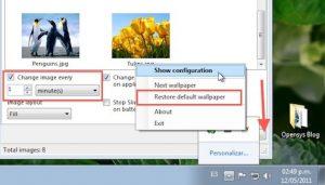 como cambiar fondo de pantalla windows 10