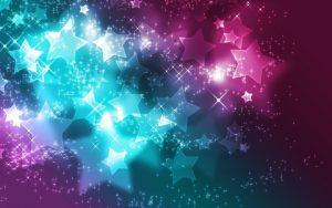 fondo de estrellas en movimiento