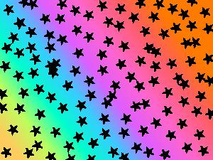 fondo de estrellas vector