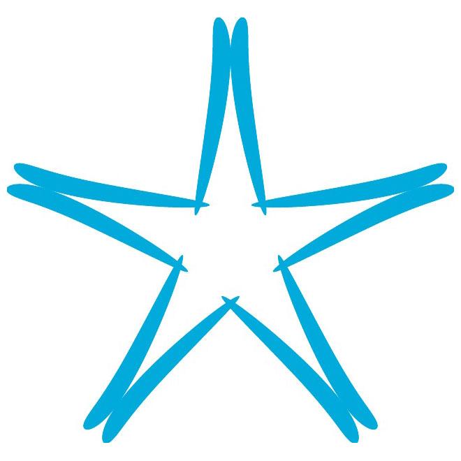 estrellas brillantes vectorizadas