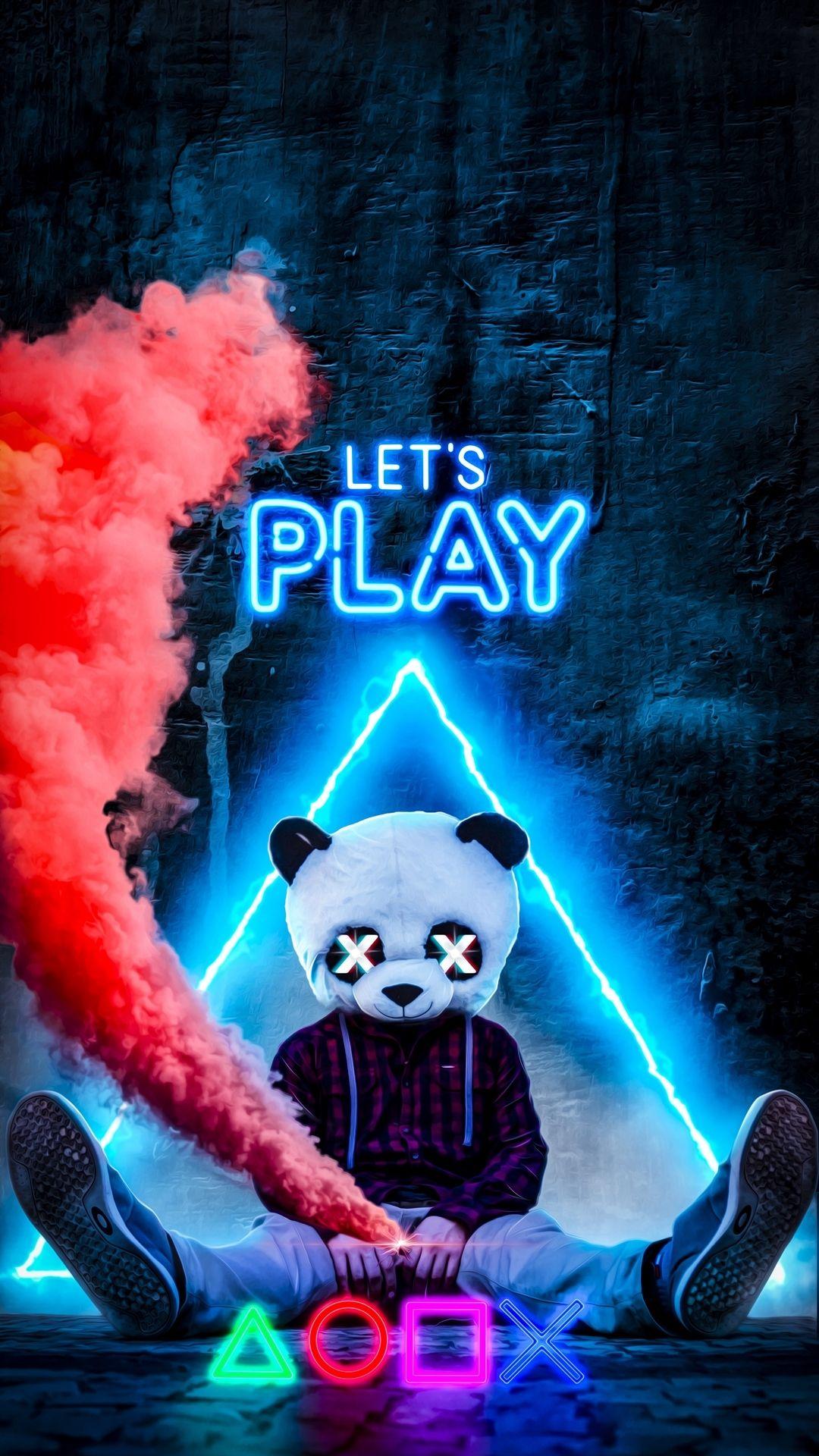 Fondo para celular Lets Play