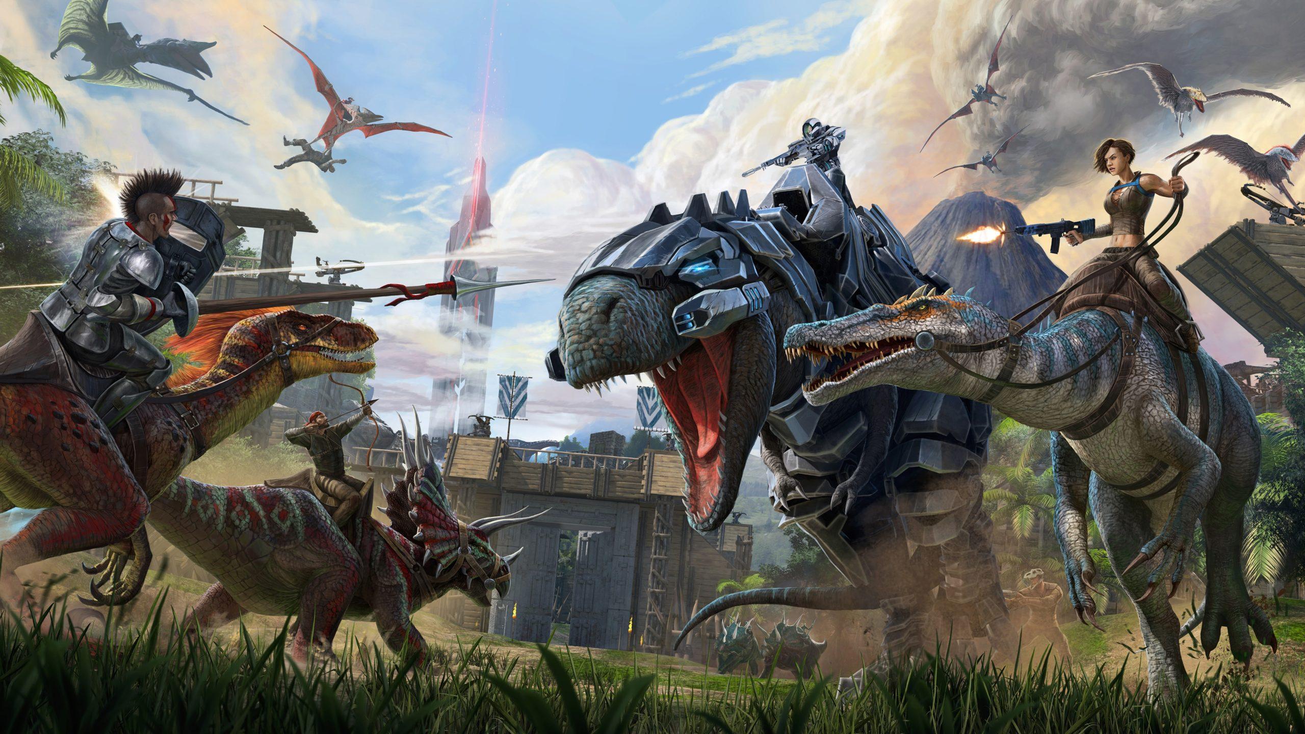 Fondo de pantalla juego de Dinosaurios