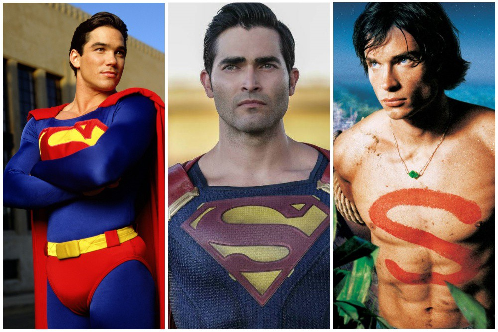 Antes y despues Superman