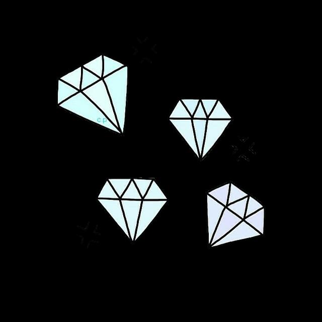 Fondo de pantalla Diamantes Tumbrl