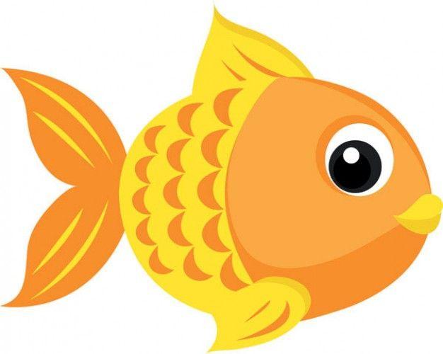 Pescado Gold para imprimir