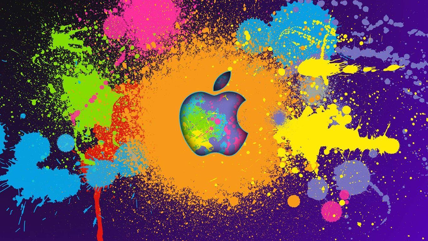 Fondo de pantalla para MAC con Colores