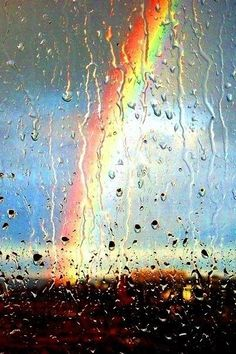 Lluvia y Arco Iris para celular