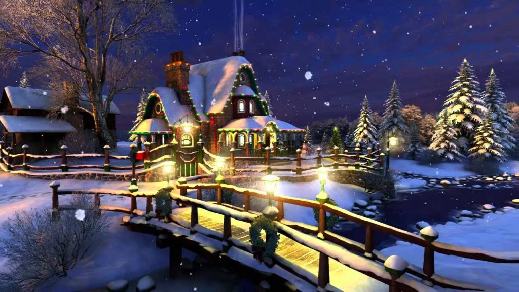 christmas wallpapers en 3d