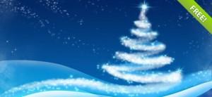 fondos de navidad psd