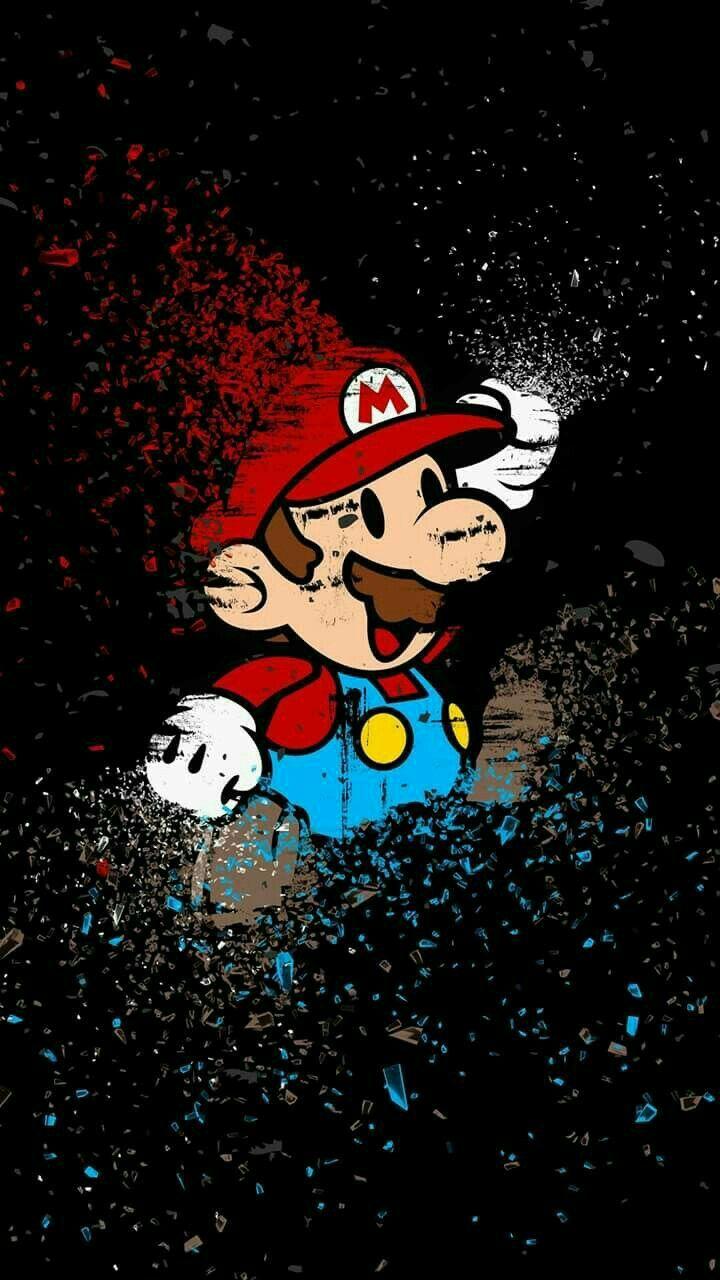 Fondo de pantalla para celular Mario Bros