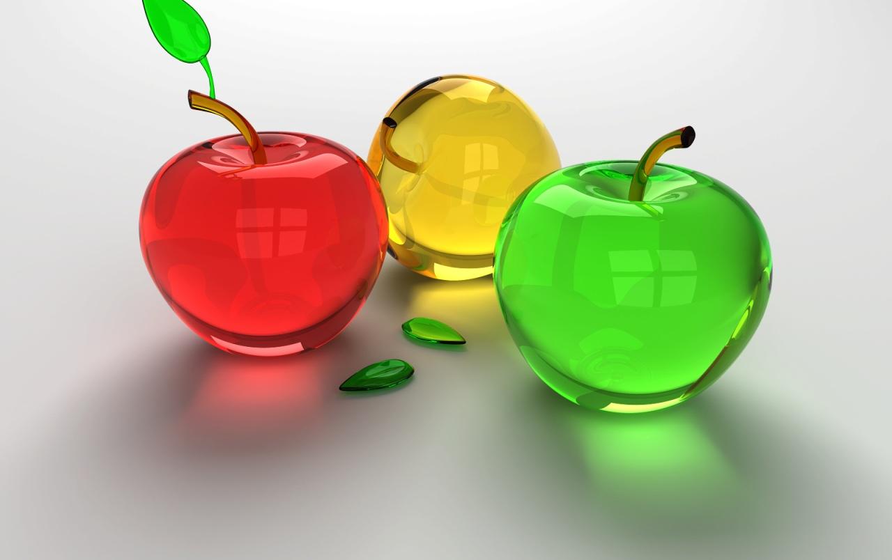 Manzanas de Cristal