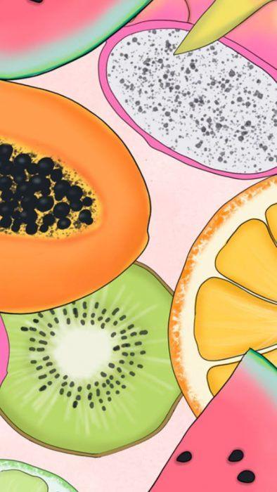 Wallpaper de frutas