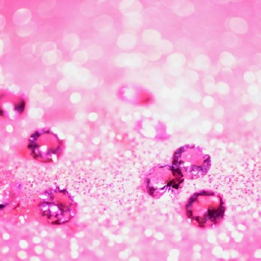 Diamantes rosas