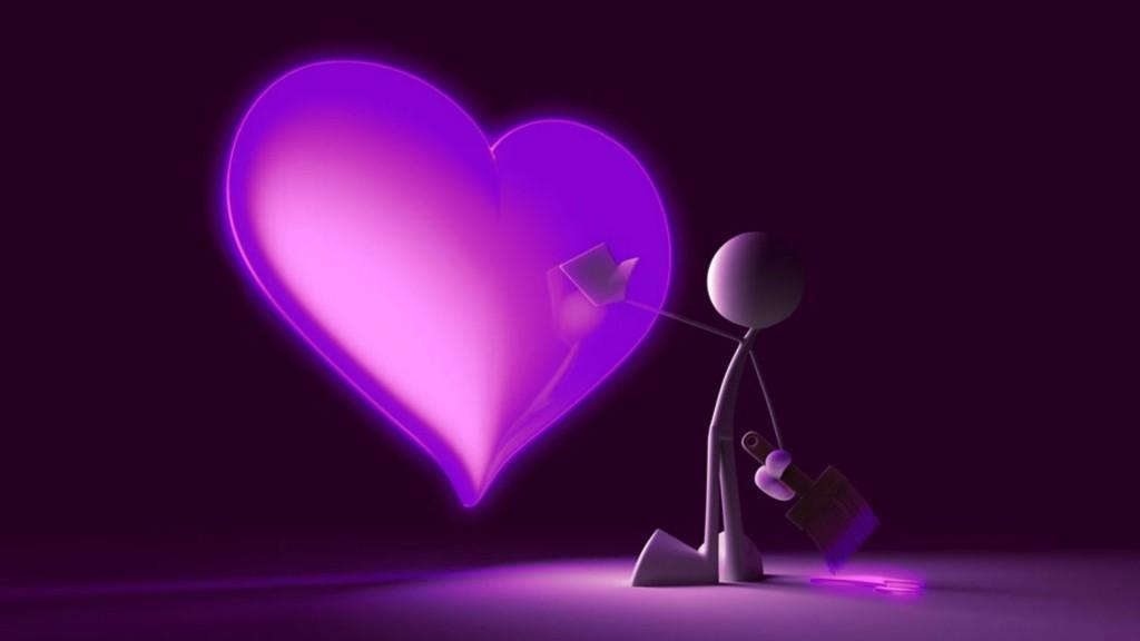 Fondos 3d de amor