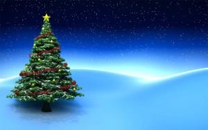 Fondos arbolitos navidad
