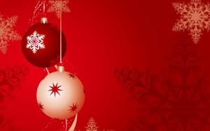 Fondos bolas navidad