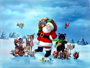 fondos pantalla animados navidad para pc