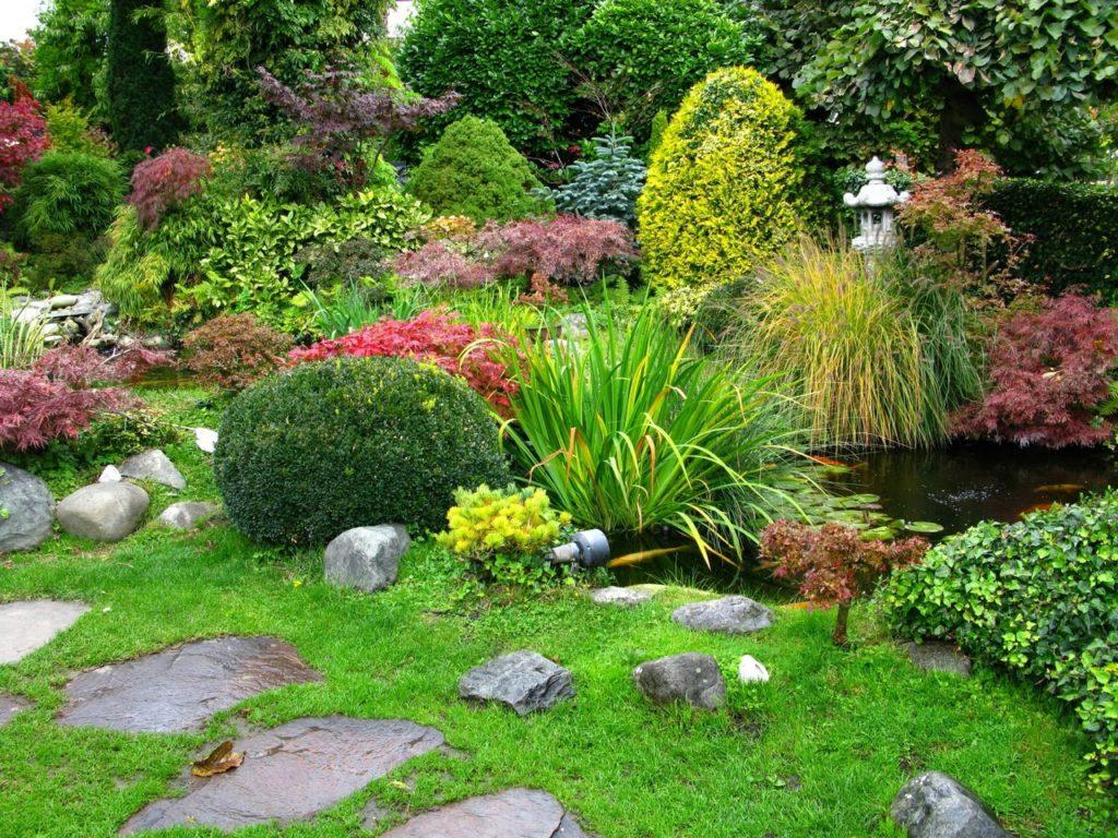 fondos de jardines para photoshop