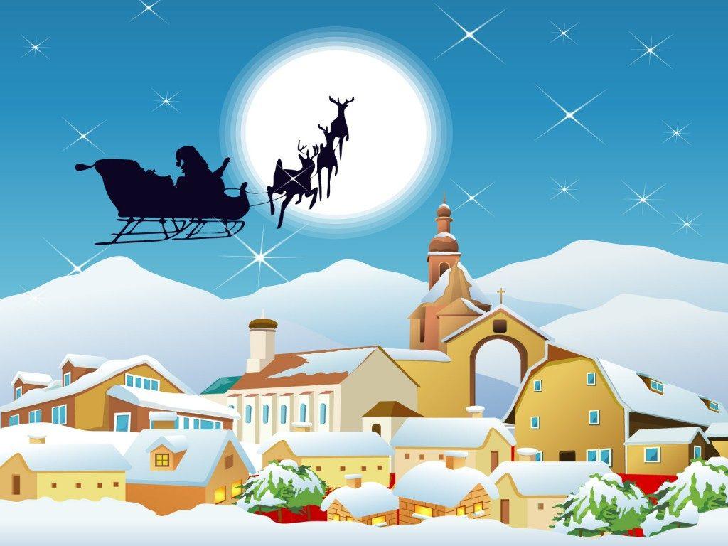 fondos de pantalla animados de navidad para pc gratis