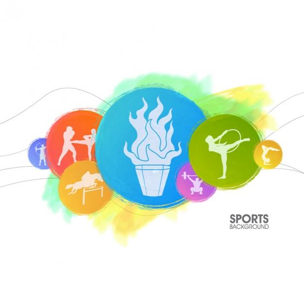 fondos deportivos en vectores