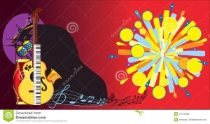 Fondos e imágenes de instrumentos musicales