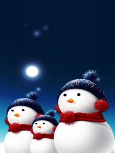 Fondos navidadblackberry