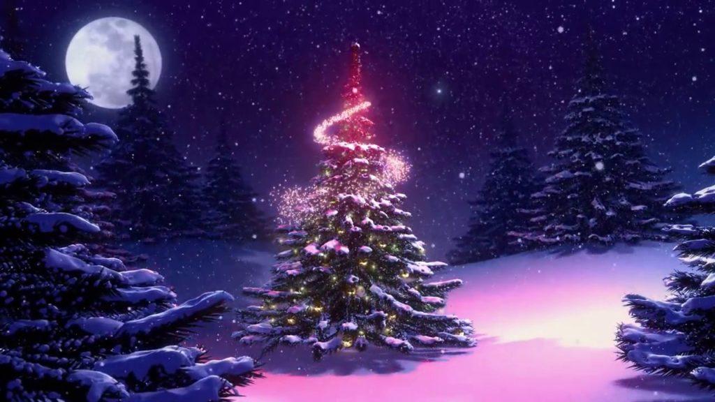 fondos navideños animados