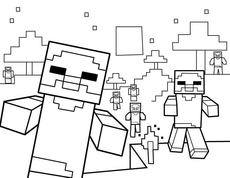 imagenes de minecraft para dibujar espadas