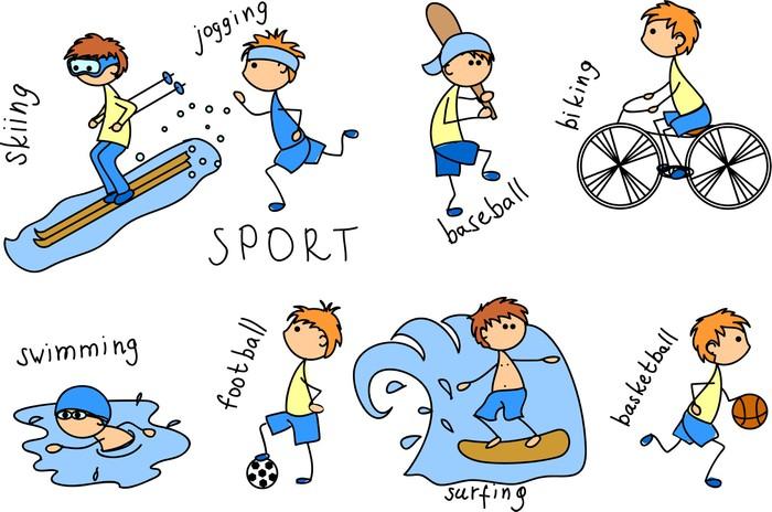imagenes de deportes animados en ingles