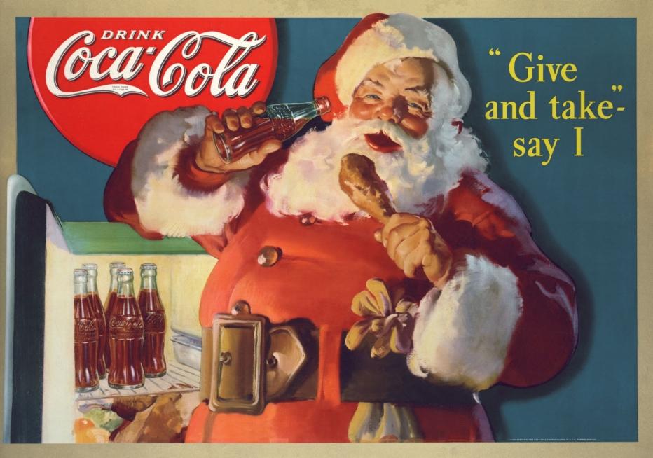 llamado de navidad coca cola chile