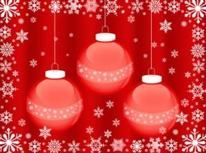 fondos de pantalla de bolas de navidad