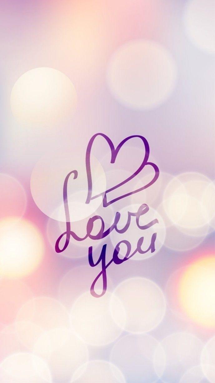 Love you con corazones