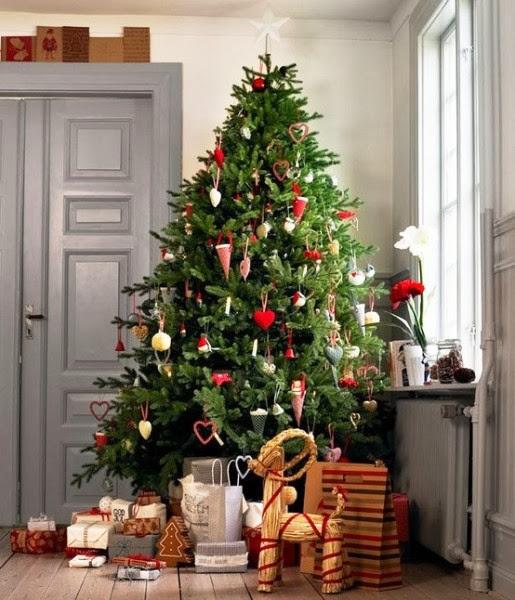 imagenes de arboles de navidad decorados con dulces