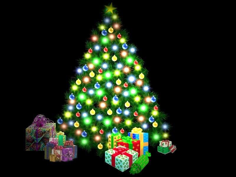 Fondos Pantalla Animados De Navidad: Fondos Arbolitos Navidad