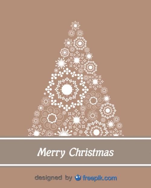 arbol de navidad vectorizado gratis