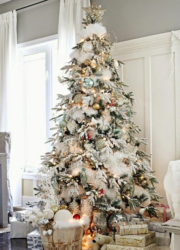 imagenes de arboles de navidad decorados modernos