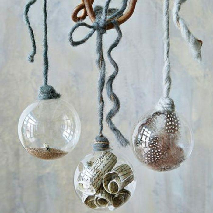 bolas transparentes navidad mercadolibre