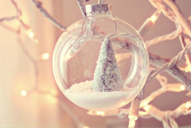 bolas navidad transparentes comprar