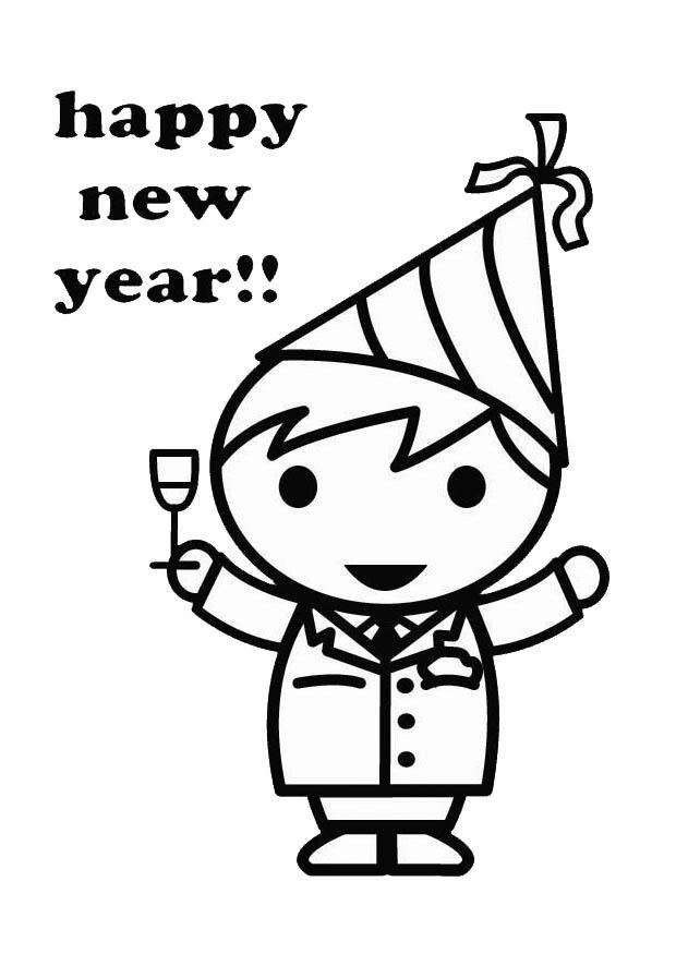niño año nuevo