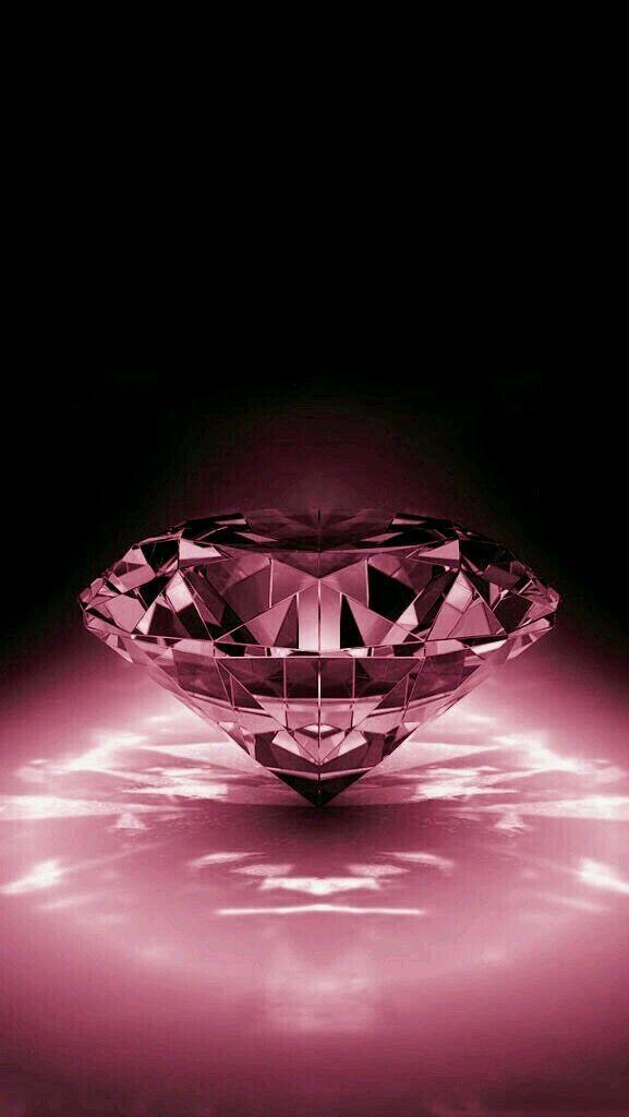 Fondo de diamante rosa