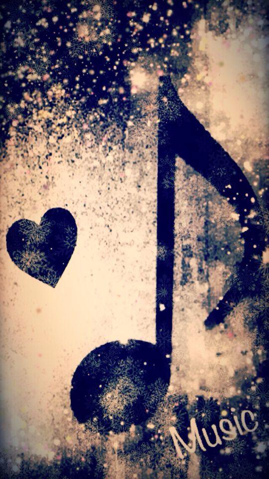 Notas musicales love.