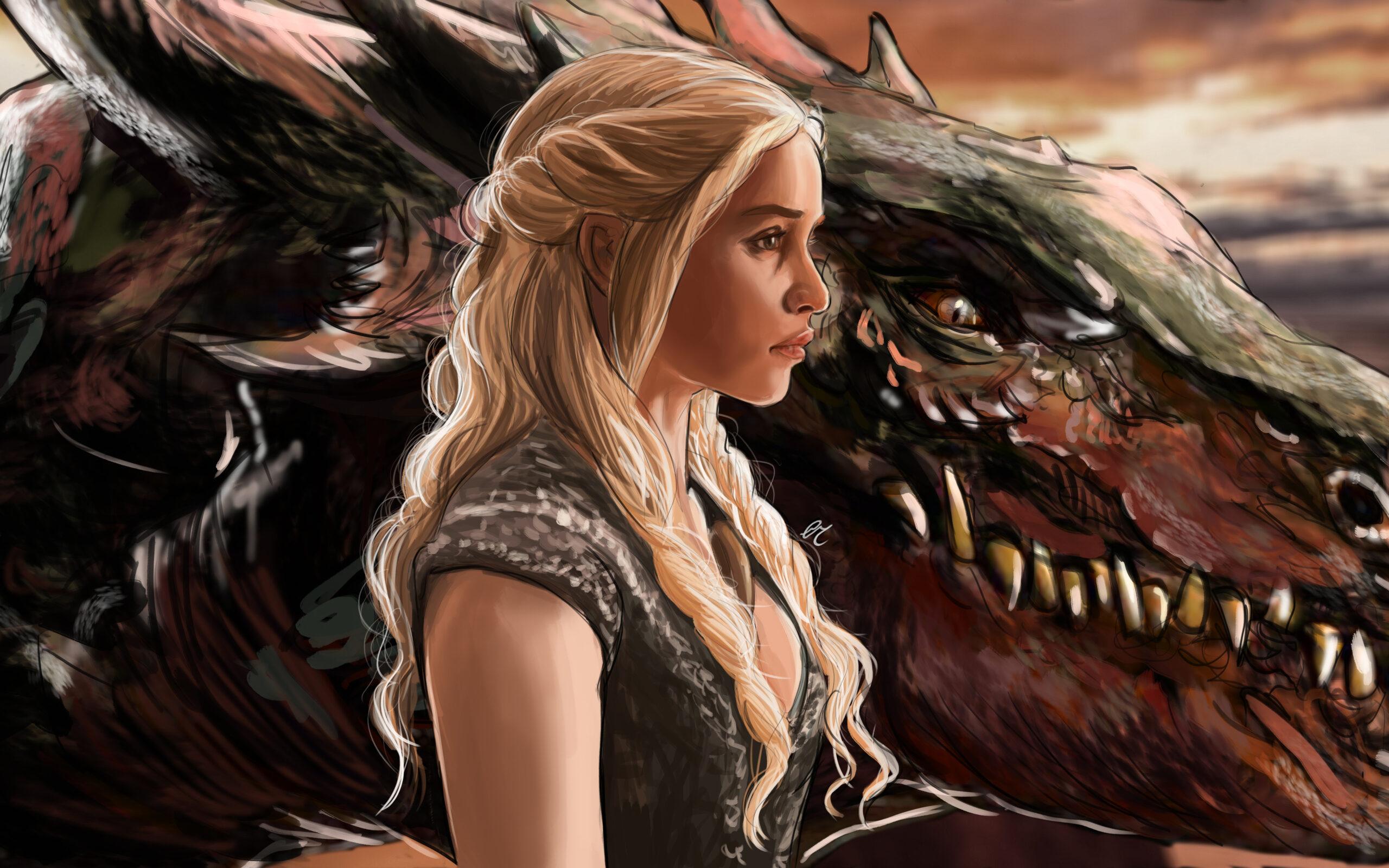 Wallpaper Daenerys Targaryen