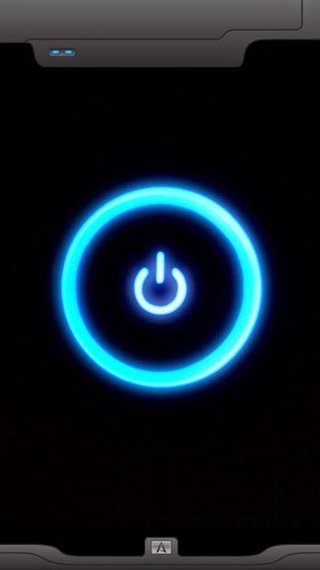 Fondo de boton encendido HD