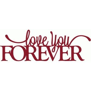 Fondo Love you forever