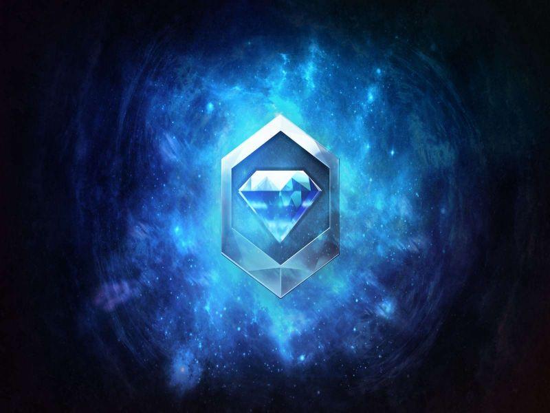 Fondo de Diamante con galaxia nebulosa