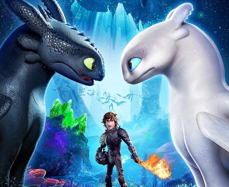 Entrenando a mi dragon